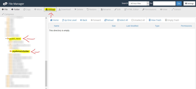 Uploading-WordPress